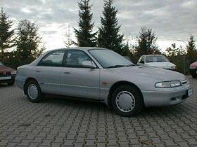 Mazda 626GE. Модель 91-го года.