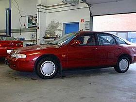 Mazda 626GE.