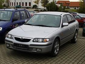 Mazda 626GF. 97 год.